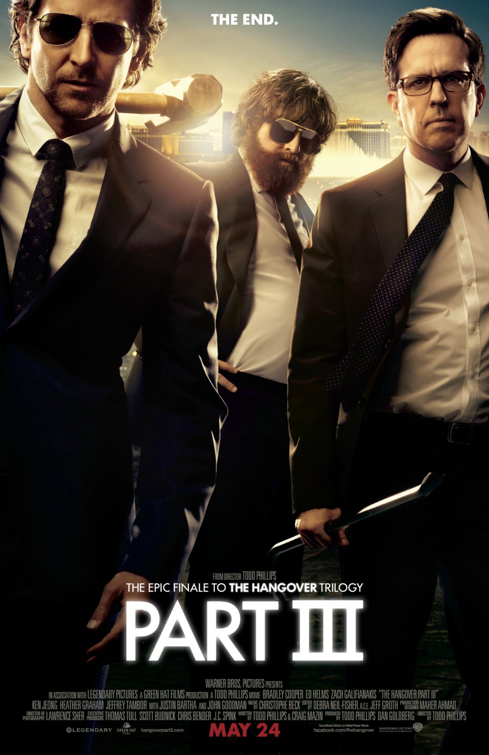 Filmposter zu The Hangover Part III