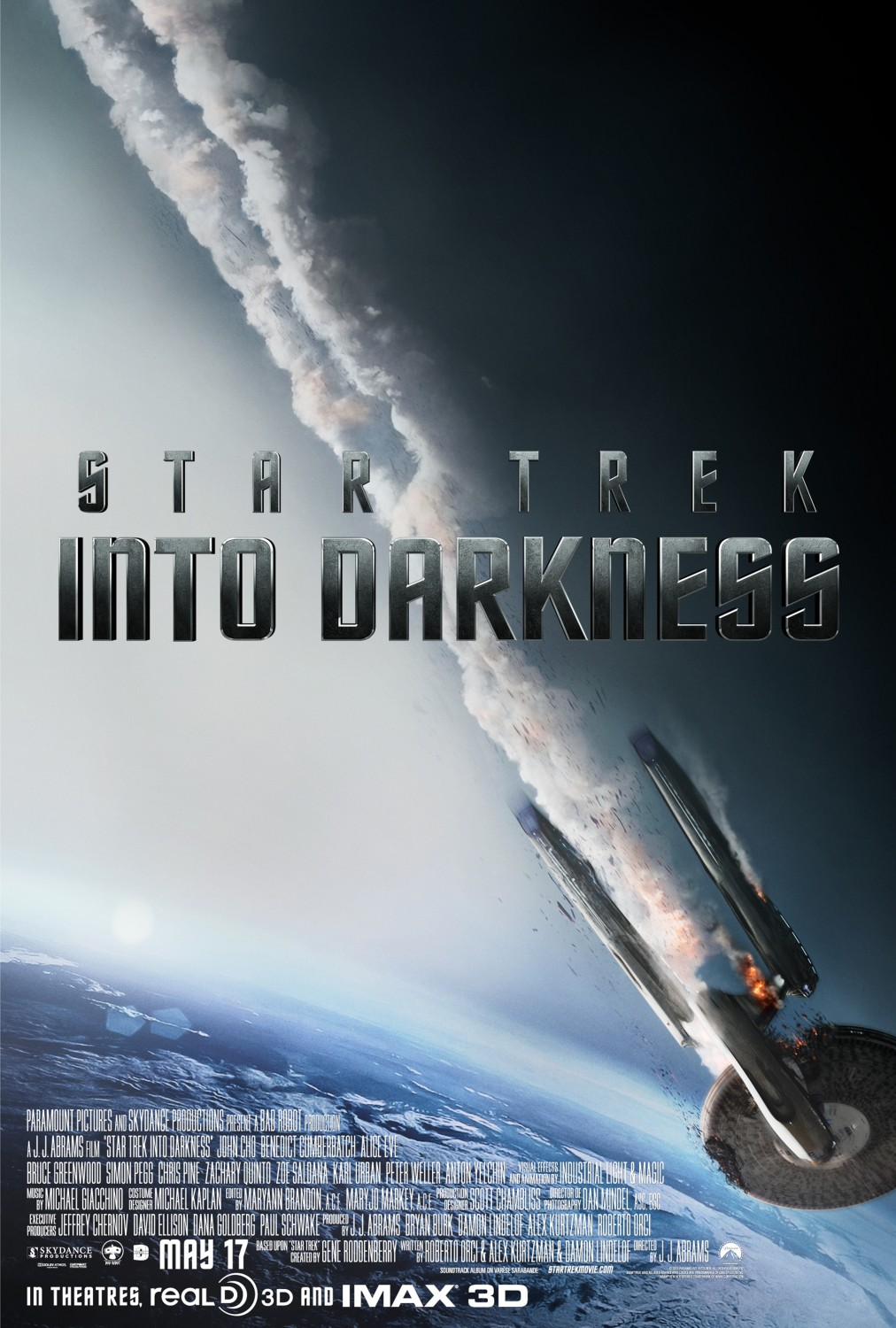 Filmposter zu Star Trek Into Darkness