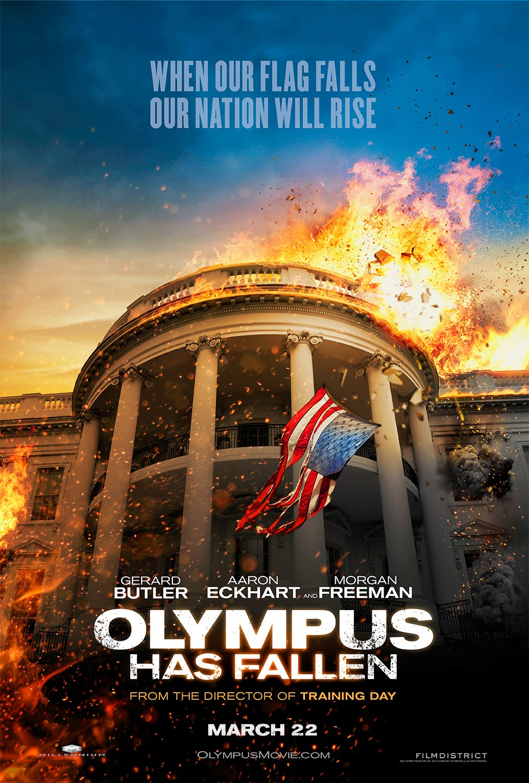 Filmposter zu Olympus HasFallen