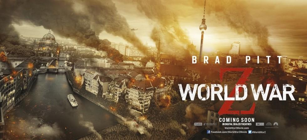 Filmposter zu World War Z